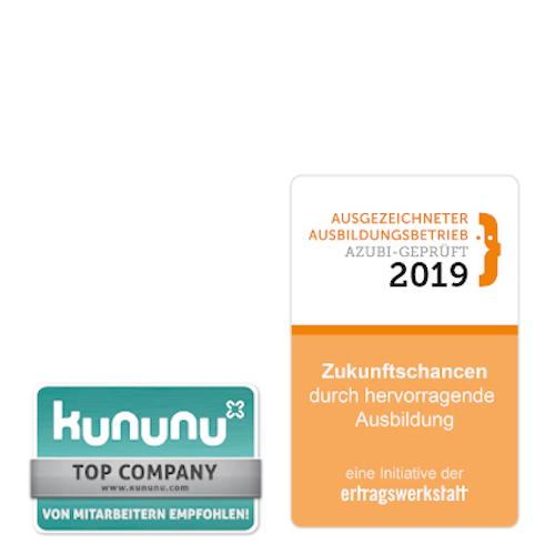 Kununu und Ertragswerkstatt Auszeichnung für die NORDWEST Handel AG
